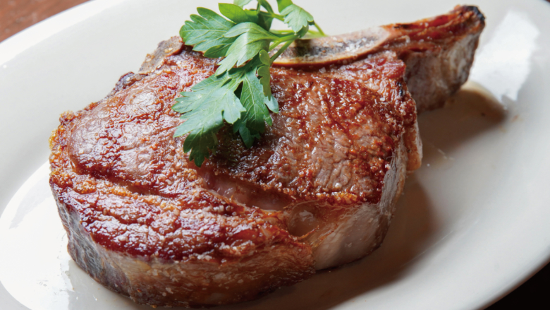 6.1-7.31 TOMAHAWK RIB EYE STEAK SPECIAL DINNER COURSE